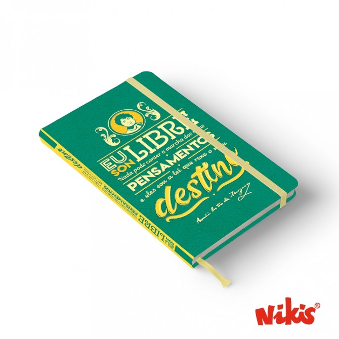 Caderno Libre Rosalía A6